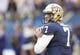 Nov 16, 2013; Pittsburgh, PA, USA; Pittsburgh Panthers quarterback Tom Savage (7) looks to pass against the North Carolina Tar Heels during the fourth quarter at Heinz Field. North Carolina won 34-27. Mandatory Credit: Charles LeClaire-USA TODAY Sports