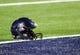 Nov 9, 2013; Tucson, AZ, USA; A detailed view of an Arizona Wildcats helmet before the first quarter against the UCLA Bruins at Arizona Stadium. Mandatory Credit: Casey Sapio-USA TODAY Sports