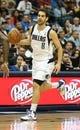 Nov 18, 2013; Dallas, TX, USA; Dallas Mavericks guard Jose Calderon (8) in action against the Philadelphia 76ers at American Airlines Center. Mandatory Credit: Matthew Emmons-USA TODAY Sports