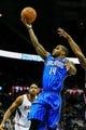 Nov 26, 2013; Atlanta, GA, USA; Orlando Magic point guard Jameer Nelson (14) shoots a basket in the first quarter against the Atlanta Hawks at Philips Arena. Mandatory Credit: Daniel Shirey-USA TODAY Sports