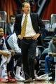 Nov 26, 2013; Atlanta, GA, USA; Atlanta Hawks head coach Mike Budenholzer calls to his players in the first quarter against the Atlanta Hawks at Philips Arena. Mandatory Credit: Daniel Shirey-USA TODAY Sports
