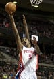 Nov 27, 2013; Auburn Hills, MI, USA; Detroit Pistons shooting guard Kentavious Caldwell-Pope (5) attempts a lay up during the fourth quarter against the Chicago Bulls at The Palace of Auburn Hills. Bulls beat the Pistons 99-79. Mandatory Credit: Raj Mehta-USA TODAY Sports