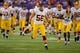 Nov 7, 2013; Minneapolis, MN, USA; Washington Redskins linebacker Josh Hull (58) leaves the field after drills before the game with the Minnesota Vikings at Mall of America Field at H.H.H. Metrodome. The Vikings win 34-27. Mandatory Credit: Bruce Kluckhohn-USA TODAY Sports