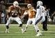Nov 28, 2013; Austin, TX, USA; Texas Longhorns quarterback Case McCoy (6) passes the ball against the Texas Tech Red Raiders during the first quarter at Darrell K Royal-Texas Memorial Stadium. Mandatory Credit: Brendan Maloney-USA TODAY Sports