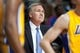 Nov 29, 2013; Auburn Hills, MI, USA; Los Angeles Lakers head coach Mike D'Antoni during the third quarter against the Detroit Pistons at The Palace of Auburn Hills. Lakers won 106-102. Mandatory Credit: Tim Fuller-USA TODAY Sports