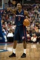 Nov 29, 2013; Auburn Hills, MI, USA; Detroit Pistons point guard Brandon Jennings (7) during the fourth quarter against the Los Angeles Lakers at The Palace of Auburn Hills. Lakers won 106-102. Mandatory Credit: Tim Fuller-USA TODAY Sports