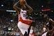 Nov 29, 2013; Toronto, Ontario, CAN; Toronto Raptors forward Rudy Gay (22) goes up to shoot as Miami Heat center-forward Chris Bosh (1) looks on at the Air Canada Centre. Miami defeated Toronto 90-83. Mandatory Credit: John E. Sokolowski-USA TODAY Sports