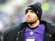 Nov 24, 2013; Baltimore, MD, USA; Baltimore Ravens quarterback Joe Flacco (5) looks on during the game against the New York Jets at M&T Bank Stadium. Mandatory Credit: Evan Habeeb-USA TODAY Sports