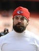 Nov 24, 2013; Kansas City, MO, USA; Kansas City Chiefs assistant strength coach Travis Crittenden before the game against the San Diego Chargers at Arrowhead Stadium. San Diego won 41-38. Mandatory Credit: John Rieger-USA TODAY Sports