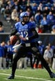 Nov 30, 2013; Memphis, TN, USA; Memphis Tigers quarterback Paxton Lynch (12) passes the ball against the Temple Owls during the first quarter at Liberty Bowl Memorial. Mandatory Credit: Justin Ford-USA TODAY Sports