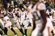 Nov 30, 2013; Charlottesville, VA, USA; Virginia Tech Hokies quarterback Logan Thomas (3) prepares to throw the ball against the Virginia Cavaliers in the fourth quarter at Scott Stadium. The Hokies won 16-6. Mandatory Credit: Geoff Burke-USA TODAY Sports