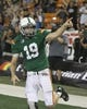 Nov 30, 2013; Honolulu, HI, USA; Hawaii Warriors quarterback Sean Schroeder (19) reacts after scoring a touchdown against the Army Black Knights during the fourth quarter at Aloha Stadium. Mandatory Credit: Marco Garcia-USA TODAY Sports