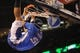 Dec 1, 2013; Oklahoma City, OK, USA; A member of the the Oklahoma City Thunder entertainment crew dunks the ball for the crowd in a break in action against the Minnesota Timberwolves at Chesapeake Energy Arena. Mandatory Credit: Mark D. Smith-USA TODAY Sports