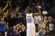 Dec 1, 2013; Oklahoma City, OK, USA; Oklahoma City Thunder small forward Kevin Durant (35) celebrates a made basket in action against the Minnesota Timberwolves during the fourth quarter at Chesapeake Energy Arena. Mandatory Credit: Mark D. Smith-USA TODAY Sports