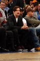 Dec 1, 2013; New York, NY, USA;  American actor Clive Owen at the game between the New York Knicks and the New Orleans Pelicans at Madison Square Garden. New Orleans Pelicans won 103-99.  Mandatory Credit: Anthony Gruppuso-USA TODAY Sports
