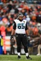 Dec 1, 2013; Cleveland, OH, USA; Jacksonville Jaguars guard Will Rackley (65) against the Cleveland Browns at FirstEnergy Stadium. Mandatory Credit: Andrew Weber-USA TODAY Sports