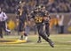 Nov 30, 2013; Columbia, MO, USA; Missouri Tigers running back Henry Josey (20) rushes for a touchdown against the Texas A&M Aggies during the second half at Faurot Field. Mandatory Credit: Peter G. Aiken-USA TODAY Sports