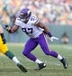 Nov 24, 2013; Green Bay, WI, USA; Minnesota Vikings defensive end Everson Griffen (97) during the game against the Green Bay Packers at Lambeau Field.  The Vikings and Packers tied 26-26.  Mandatory Credit: Jeff Hanisch-USA TODAY Sports