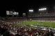 Nov 16, 2013; Tampa, FL, USA; An overview of Raymond James Stadium where the South Florida Bulls play against the Memphis Tigers during the second quarter. Mandatory Credit: Kim Klement-USA TODAY Sports