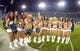 Dec 5, 2013; Jacksonville, FL, USA; Jacksonville Jaguars roar cheerleaders pose during the game against the Houston Texans at EverBank Field. Mandatory Credit: Kirby Lee-USA TODAY Sports