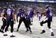 Dec 8, 2013; Baltimore, MD, USA; Baltimore Ravens wide receiver Jacoby Jones (12) celebrates after scoring a touchdown in the fourth quarter against the Minnesota Vikings at M&T Bank Stadium. Mandatory Credit: Evan Habeeb-USA TODAY Sports