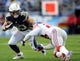 Dec 8, 2013; San Diego, CA, USA; San Diego Chargers running back Danny Woodhead (39) runs for a first down during the second half against the New York Giants at Qualcomm Stadium. The Chargers won 37-14. Mandatory Credit: Christopher Hanewinckel-USA TODAY Sports