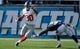 Dec 8, 2013; San Diego, CA, USA; New York Giants wide receiver Victor Cruz (80) runs past San Diego Chargers cornerback Richard Marshall (31) during first half action at Qualcomm Stadium. Mandatory Credit: Robert Hanashiro-USA TODAY Sports