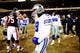 Dec 9, 2013; Chicago, IL, USA; Dallas Cowboys quarterback Tony Romo (9) walks off the field after losing to the Dallas Cowboys 46-28 at Soldier Field. Mandatory Credit: Andrew Weber-USA TODAY Sports