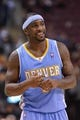 Dec 1, 2013; Toronto, Ontario, CAN; Denver Nuggets point guard Ty Lawson (3) relaxes during a time out in the fourth quarter of a game against the Toronto Raptors at the Air Canada Centre. Denver won the game 112-98. Mandatory Credit: Mark Konezny-USA TODAY Sports