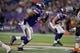 Dec 1, 2013; Minneapolis, MN, USA; Minnesota Vikings defensive end Everson Griffen (97) rushes against the Chicago Bears in the second quarter at Mall of America Field at H.H.H. Metrodome. Vikings win 23-20 in overtime. Mandatory Credit: Bruce Kluckhohn-USA TODAY Sports