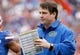 Nov 30, 2013; Gainesville, FL, USA; Florida Gators head coach WIll Muschamp against the Florida State Seminoles during the second quarter at Ben Hill Griffin Stadium. Mandatory Credit: Kim Klement-USA TODAY Sports