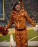 Dec 7, 2013; Waco, TX, USA; A Texas Longhorns cheerleader during the game against the Baylor Bears at Floyd Casey Stadium. The Baylor Bears defeated the Texas Longhorns 30-10 to win the Big 12 championship. Mandatory Credit: Jerome Miron-USA TODAY Sports