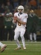 Dec 7, 2013; Waco, TX, USA; Texas Longhorns quarterback Case McCoy (6) during the game against the Baylor Bears at Floyd Casey Stadium. The Baylor Bears defeated the Texas Longhorns 30-10 to win the Big 12 championship. Mandatory Credit: Jerome Miron-USA TODAY Sports