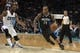 Dec 11, 2013; Charlotte, NC, USA; Orlando Magic point guard Jameer Nelson (14) drives the ball inside during the first half against the Charlotte Bobcats at Time Warner Cable Arena. Mandatory Credit: Jeremy Brevard-USA TODAY Sports