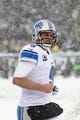 Dec 8, 2013; Philadelphia, PA, USA; Detroit Lions quarterback Matthew Stafford (9) during the third quarter against the Philadelphia Eagles at Lincoln Financial Field. The Eagles defeated the Lions 34-20. Mandatory Credit: Howard Smith-USA TODAY Sports
