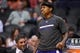 Nov 20, 2013; Phoenix, AZ, USA; Sacramento Kings guard Isaiah Thomas (22) reacts from the bench against the Phoenix Suns at US Airways Center. The Kings defeated the Suns 113-106. Mandatory Credit: Jennifer Stewart-USA TODAY Sports