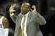 Dec 17, 2013; Cleveland, OH, USA; Cleveland Cavaliers head coach Mike Brown reacts in the fourth quarter against the Portland Trail Blazers at Quicken Loans Arena. Mandatory Credit: David Richard-USA TODAY Sports