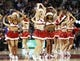 Dec 18, 2013; Toronto, Ontario, CAN; Toronto Raptors dance team performs during a break in the action against the Charlotte Bobcats during the first half at the Air Canada Centre. Mandatory Credit: John E. Sokolowski-USA TODAY Sports