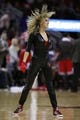 Dec 18, 2013; Houston, TX, USA; The Rockets Power dancer perform during the fourth quarter of the game between the Houston Rockets and the Chicago Bulls at Toyota Center. Mandatory Credit: Andrew Richardson-USA TODAY Sports