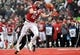 Dec 21, 2013; Cheney, WA, USA; Eastern Washington Eagles wide receiver Cooper Kupp (10) is unable to catch a pass against the Towson Tigers during the second half at Roos Field. The Tiger beat Eagles 35-31. Mandatory Credit: James Snook-USA TODAY Sports
