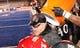 Dec 21, 2013; Boise, ID, USA; San Diego State Aztecs head coach Rocky Long  has Gatorade dumped on him at the end of the second half of the Idaho Potato Bowl verses the Buffalo Bulls at Bronco Stadium. San Diego defeated Buffalo 49-24. Mandatory Credit: Brian Losness-USA TODAY Sports