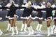 Dec 22, 2013; Seattle, WA, USA; Seattle Seahawks cheerleaders perform before a game against the Arizona Cardinals at CenturyLink Field. Mandatory Credit: Joe Nicholson-USA TODAY Sports