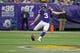 Dec 15, 2013; Minneapolis, MN, USA; Minnesota Vikings kicker Blair Walsh (3) kicks off to the Philadelphia Eagles in the first quarter at Mall of America Field at H.H.H. Metrodome. The Vikings win 48-30. Mandatory Credit: Bruce Kluckhohn-USA TODAY Sports
