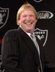 Dec 27, 2013; Alameda, CA, USA; Oakland Raiders owner Mark Davis at press conference at Oakland Raiders Practice Facility. Mandatory Credit: Kirby Lee-USA TODAY Sports
