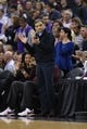 Dec 27, 2013; Sacramento, CA, USA; Sacramento Kings majority owner Vivek Ranadive claps from the sideline during the third quarter against the Miami Heat at Sleep Train Arena. The Sacramento Kings defeated the Miami Heat 108-103 in overtime. Mandatory Credit: Kelley L Cox-USA TODAY Sports