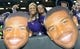 Dec 27, 2013; San Francisco, CA, USA; Washington Huskies fans pose with cutouts of quarterback Keith Price at the 2013 Fight Hunger Bowl at AT&T Park. Mandatory Credit: Kirby Lee-USA TODAY Sports