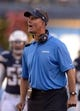 Dec 22, 2013; San Diego, CA, USA; San Diego Chargers coach Mike McCoy reacts during the second half against the Oakland Raiders at Qualcomm Stadium. The Chargers won 26-13.Mandatory Credit: Kirby Lee-USA TODAY Sports