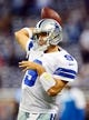 Oct 27, 2013; Detroit, MI, USA; Dallas Cowboys quarterback Tony Romo (9) before the game against the Detroit Lions at Ford Field. Mandatory Credit: Andrew Weber-USA TODAY Sports