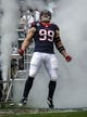 Dec 22, 2013; Houston, TX, USA; Houston Texans defensive end J.J. Watt (99) walks onto the field before a game against the Denver Broncos at Reliant Stadium. Mandatory Credit: Troy Taormina-USA TODAY Sports