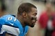 Dec 16, 2013; Detroit, MI, USA; Detroit Lions wide receiver Calvin Johnson (81) during the second quarter against the Baltimore Ravens at Ford Field. Mandatory Credit: Tim Fuller-USA TODAY Sports